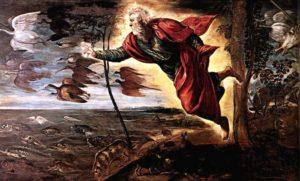 Tintoretto.La creación de los animales