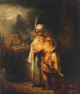 escena bíblica.Rembrandt