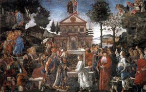 Tentaciones Cristo (Botticelli)